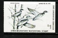 US Stamps # IA7 $1 Ducks XF OG NH Scott Value $50.00
