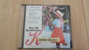 """CD """"Die 20 schönsten Kinderlieder"""" - gebraucht"""