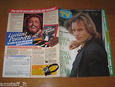 TV SORRISI E CANZONI=1988/4=STING COVER=MILLY CARLUCCI=ELLIOTT GOULD=CARRA' R.=