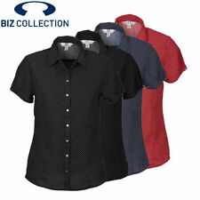 Career Short Sleeve Unbranded Machine Washable Tops & Blouses for Women