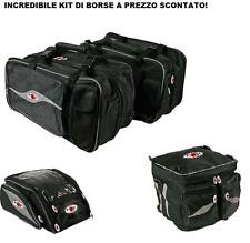 Yamaha Xt 600 Borse Laterali + Borsa Serbatoio + Borsa Baule Side Tour Mcp - Uni