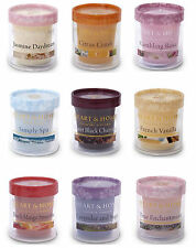 Heart & Home SET OF 4 VOTIVE CANDLES choose your fragrances NEW FRAGRANCES