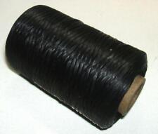 Artificial Sinew Cone Waxed Thread Sinue 300 Yard 70# Primitive Beading BLACK