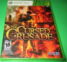 Cursed Crusade Microsoft Xbox 360 *Factory Sealed! *Free Shipping!