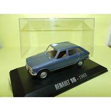 RENAULT 16 1965 Bleu UNIVERSAL HOBBIES Collection M6 1:43
