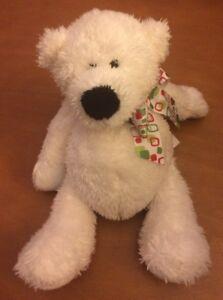 "Ganz White Bear Named Mini Tubby Tummy 6"""