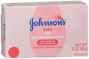 Johnson's Baby Bath Bar, mild and gentle 3 Ounce