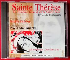 CD Sainte Therese de Lisieux Office du Centenaire Pere Andre Gouzes (1997) rare