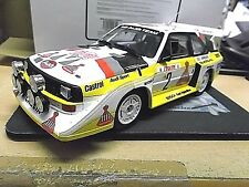 AUDI S1 E2 Quattro Rallye WM Monte Carlo 1986 #2 Röhrl Resin otto  RAR 1:18
