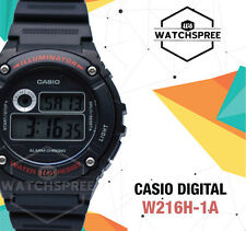 Casio Standard Digital Watch W216H-1A