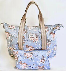 Cath Kidston Disney Bambi Travel Bag Rose Overnight Foldaway Lightweight Handbag