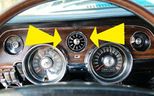 NEW! 1967 - 1968 Ford Mustang Battery Powered Dash Clock
