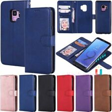 Magnetic Wallet Card Slot Leather Flip Case Cover For Samsung S10 S9 S8 S7 Note9
