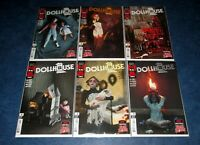 the DOLLHOUSE FAMILY 1 2 3 4 5 6 1st print set JOE HILL DC BLACK LABEL M R CAREY