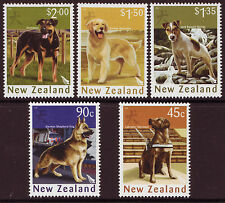 Nueva Zelanda 2006 AÑO DEL EL PERRO Juego de 5 Nuevo sin montar