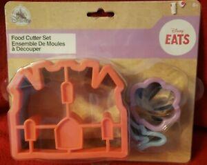 Disney Princess Food Cutter Set Castle Shell Cinderella NEW
