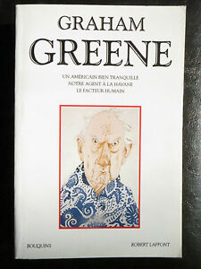Collection Bouquins : Graham Greene, Un américain bien tranquille, 1993