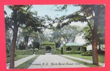 North Burial Ground Main Entrance Providence RI Posted DB Postcard