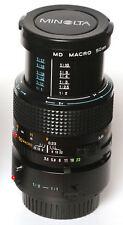 MINOLTA MD 50mm F3.5 MACRO + 1:1 macro adapter *****MINT***** #0526