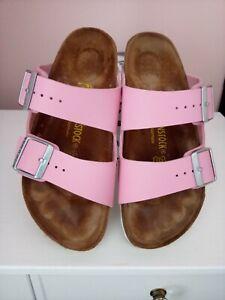 Birkenstock arizona Pink White Size 38