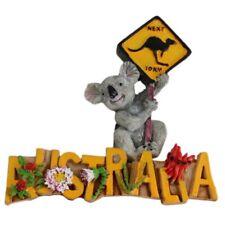 3D Australia Koala Kangaroo Road Sign Fauna Flora Fridge Magnet Australian NEW