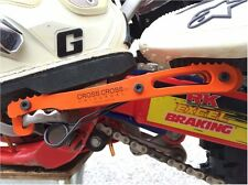UNIVERSAL CROSSCROSS fits KTM ORANGE Passenger Foot Pegs Rest