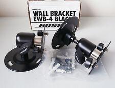 Genuine Set of 2 Bose EWB-4 Tilt & Turn Wall Brackets for Bose 151 Speakers