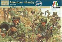 Italeri 1/72 (20mm) 2ND GUERRE MONDIALE Américain Infanterie (Esci)