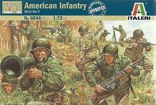 Italeri 1/72 (20mm) WWII American Infantry (Esci)