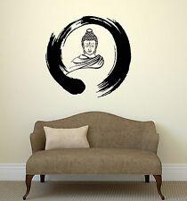 Wall Decal Zen Circle Buddha Buddhism Meditation Vinyl Stickers (ig3036)