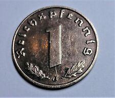 3. Reich 1 Reichspfennig 1940 J - Adler - vz+ / vz plus