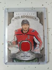 2019-20 UPPER DECK ARTIFACTS  NHL REMNANTS JERSEY ALEX OVECHKIN #NR-AO GROUP A