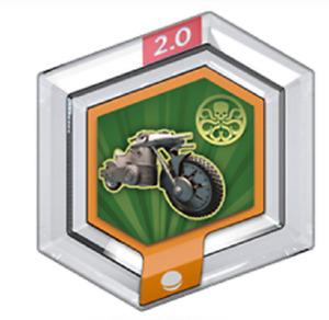 Disney Infinity 2.0 Power Disc HYDRA MOTORCYLE - New