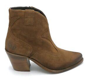 Felmini B925 Ankle Boot Suede Leather Zipper Heel 7 CM W