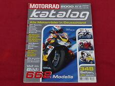 Der Original MOTORRAD-KATALOG Ausgabe 2000 Motorradkatalog