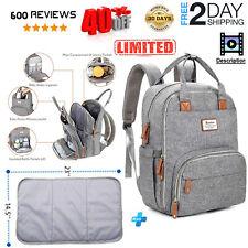 Diaper Bag Backpack,RUVALINO Large Multifunction Travel Back Pack Maternity Baby