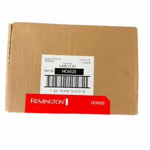 Remington HC6525 Color Comb Vacuum Haircut Kit w/ Titanium Coated Blades Trimmer