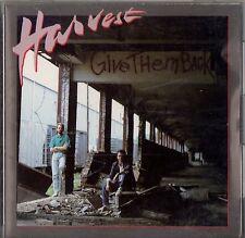 HARVEST - Give Them Back - Mega Rare 1987 Christian CD - Greentree label OOP