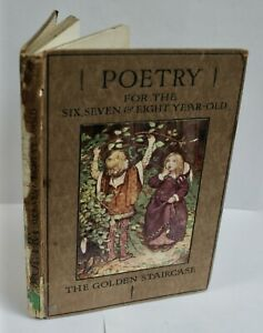 Chisholm: Poetry For The 6,7,& 8 Year Old, Colour Plates By M Dibdin Spooner