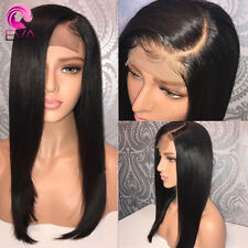 USA Pre-Plucked Human Virgin Hair Full Lace Wigs Front Lace Wigs Bleached Knots