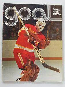 1973 DETROIT RED WINGS VS ATLANTA FLAMES issue of Goal -