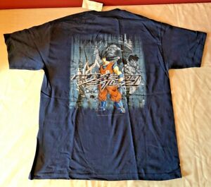Vintage 2000 Bird Studio Dragonball Z Anime T-Shirt Adult XL NWT NEW Rare Style!