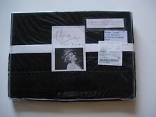KYLIE AT HOME CASSIA BLACK HOUSEWIFE PILLOWCASE BNIP