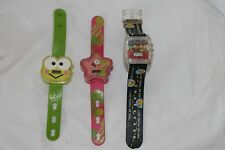 Lot of 3 Watches The Simpsons Burger King Condition Unknown McDonalds Sanrio