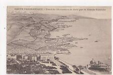 Trace de l'Excursion en Auto par la Grande Corniche Vintage Postcard 393a