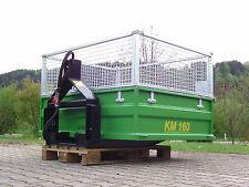 Heckcontainer, Kippmulde, Traktor, Schlepper, KM 160