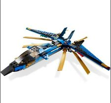 LEGO 9442 Ninjago Jay's Storm Fighter Complete set no box. Retired set.