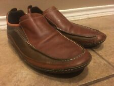Cole Haan Air Leather Driving Loafers Moccasins Mens Sz 13M Brown Multicolor