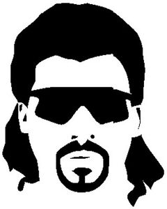 Kenny Powers vinyl Decal Danny McBride Eastbound and Down sticker