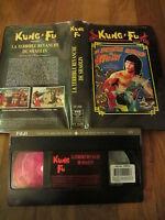 La Terrible Revanche De Shaolin de Godfrey Ho, VHS Carrère, Kung-Fu, RARE!!!